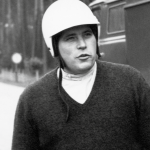 Porsche plant manager Herbert Linge, 1964 as a Formula Vau tester with it