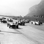 The young formula Vau starts 1965 in Innsbruck.
